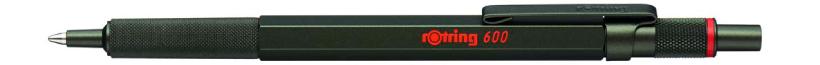 ロットリング600シリーズ